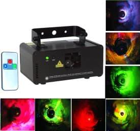 Лазерная цветомузыка для дискотек и вечеринок